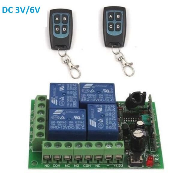 Century Aoke 433.92MHz RF AC Remote Control Switch Receiver with Transmitter
