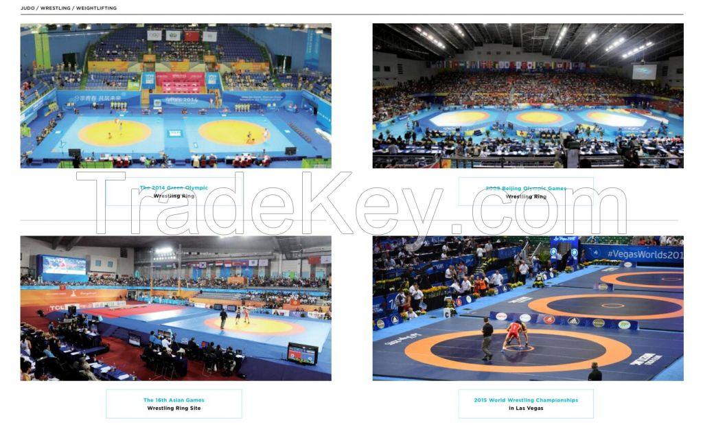 Mats for Judo/Wrestling/Weightlifting Platform