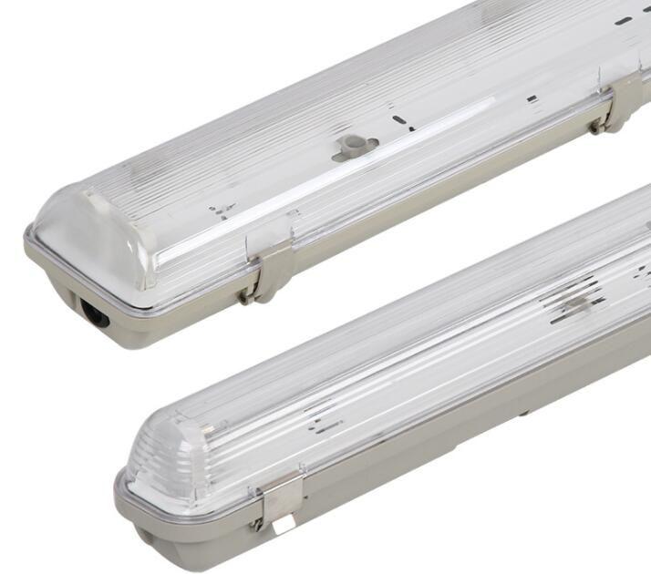 Waterproof T8 Tri-proof Light Fixture