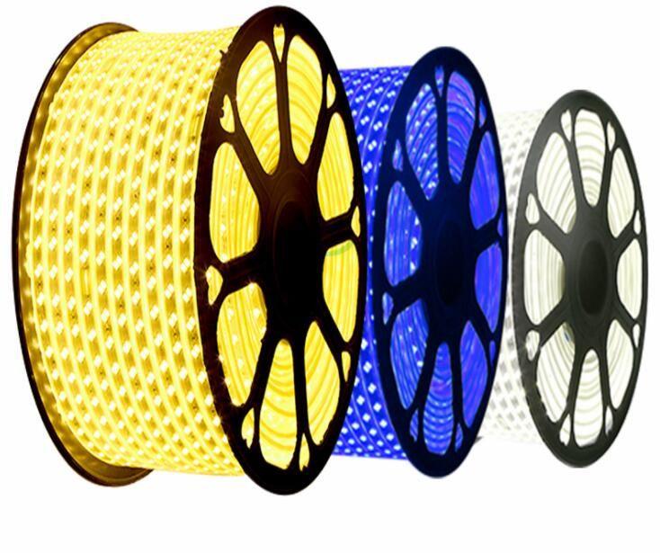 ip67 waterproof led strip 220v 60 led/m 5050 rope light
