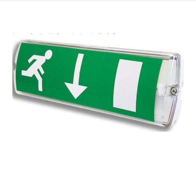 Rechargeable Battery CE approved  LED Ceiling Mounted Exit Sign Light