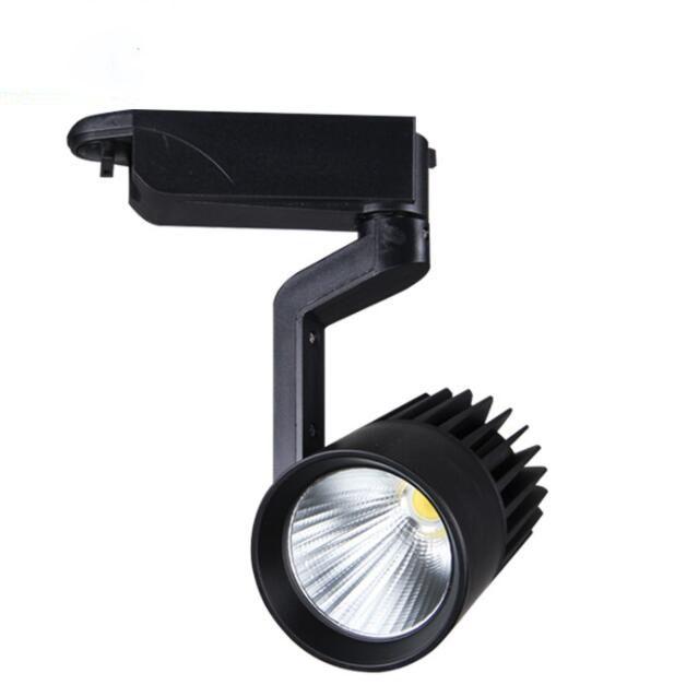 10W/20W/30W/40W/50W cob track light 5 years warranty led track spot light