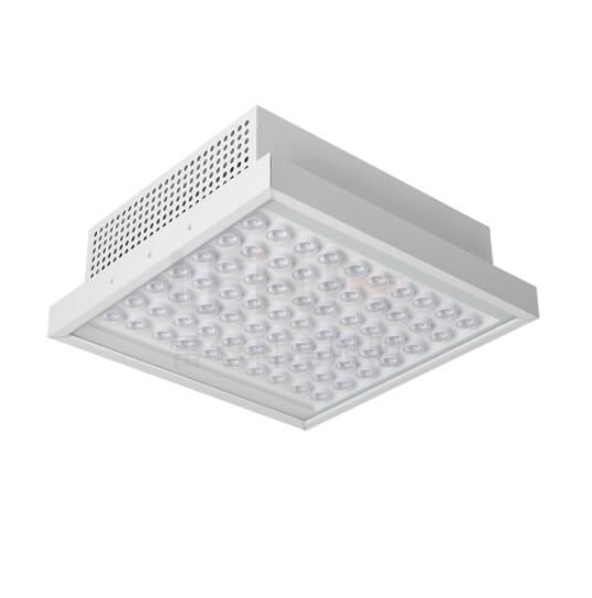 Patent design IP65 Recessed LED canopy light for gas station