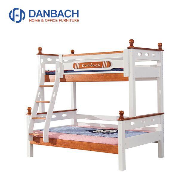 Kids Wooden Bunk Bed Children's Double Decker Bed