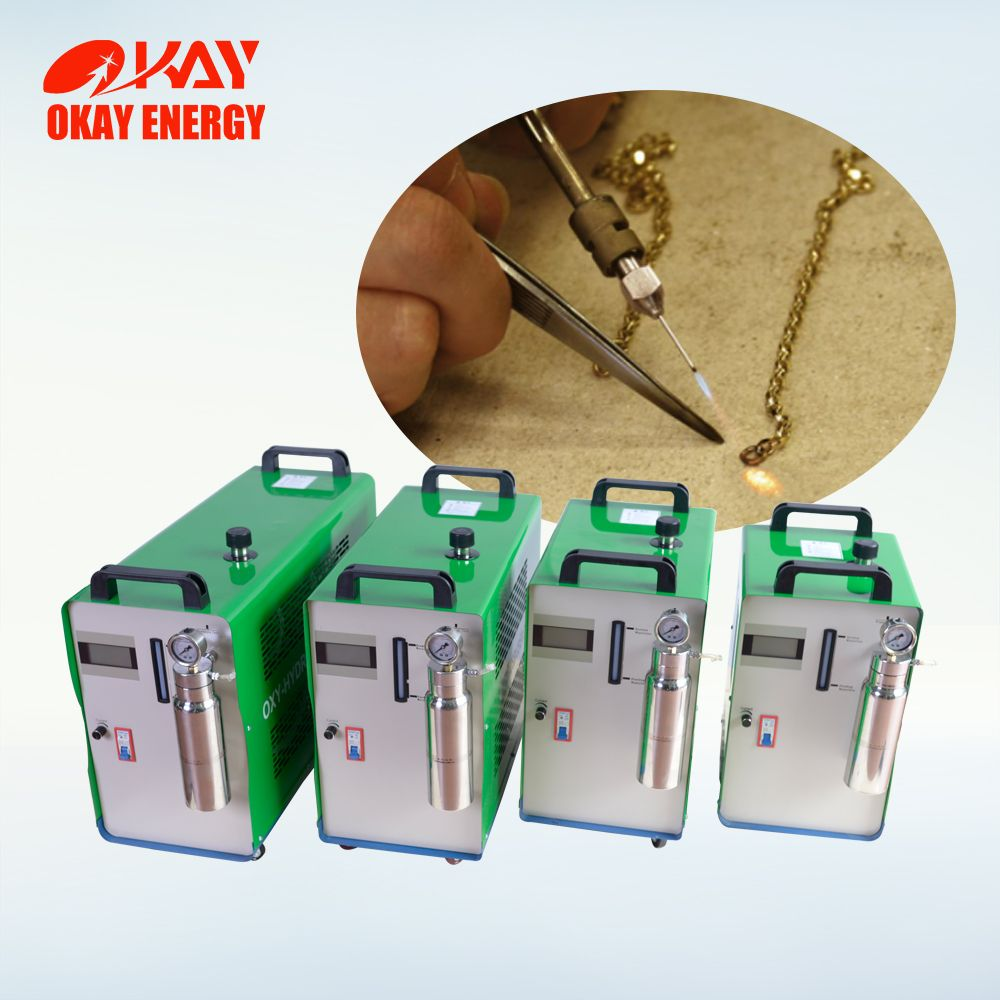 Okay Energy portable jewelry tools silver gold welding machine high efficient jewelry spot welding
