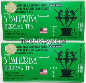 Original 3 Ballerina Tea-Diters Drink(Extra Strength)-Herbal Weight loss Tea