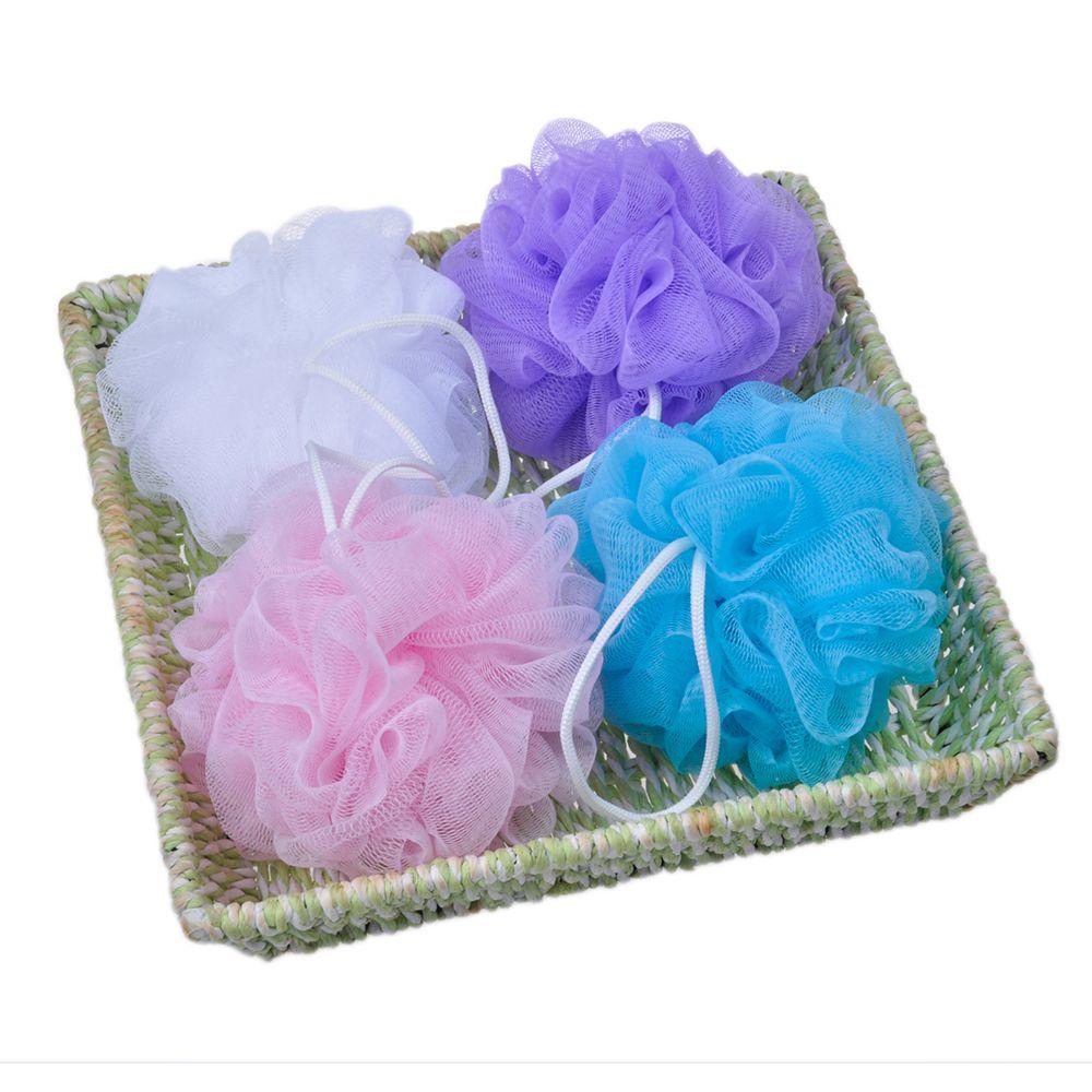 Plastic Bath Puff / Flower Bath Sponge / Promotion Items