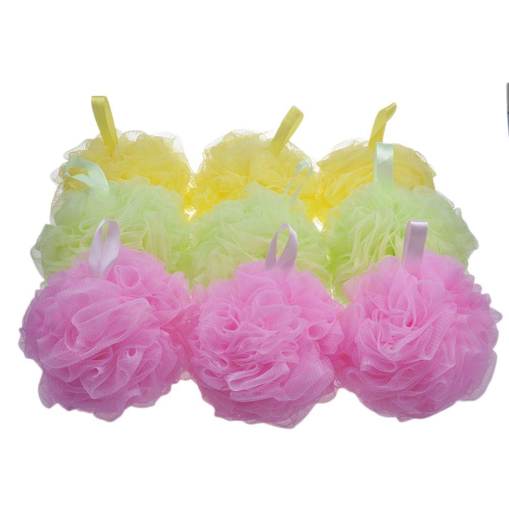 Plastic Bath Puff / Flower Bath Sponge / for Promotion