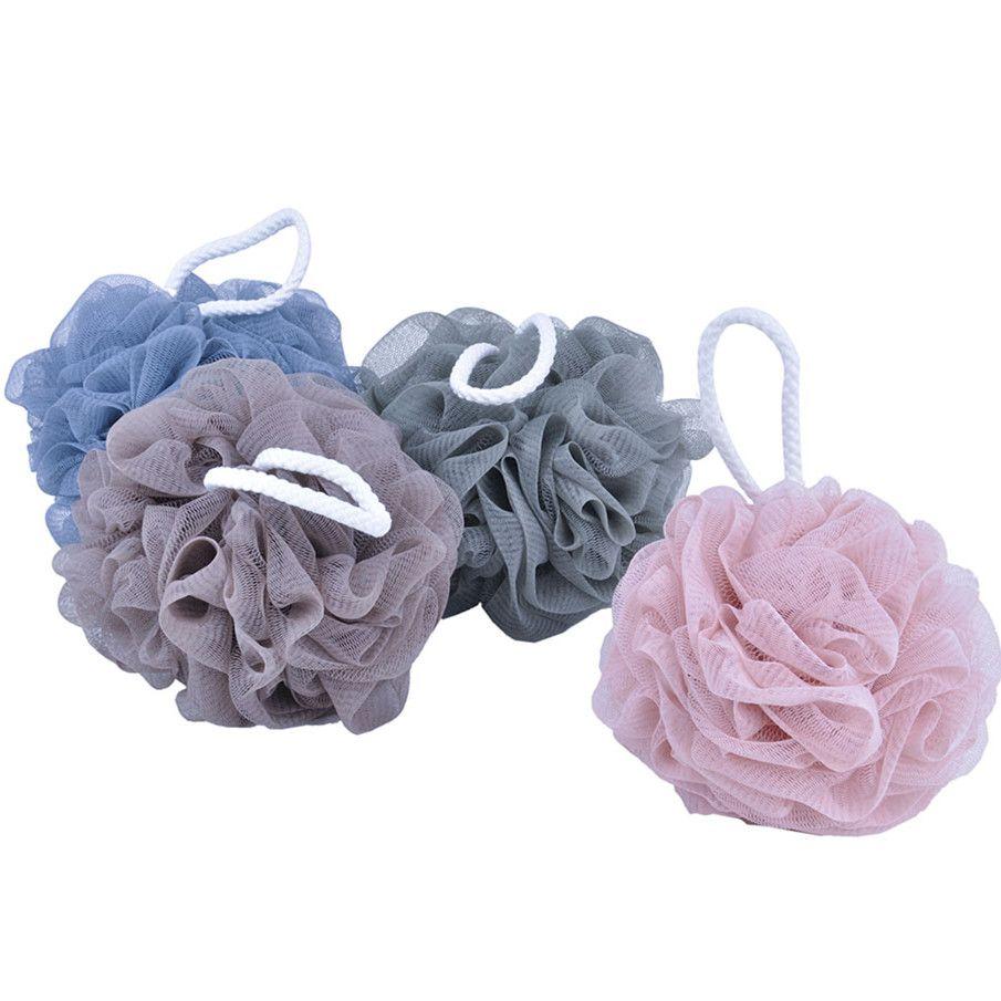 Gentle Bath Puff / Flower Bath Sponge / for Sensitive Skin