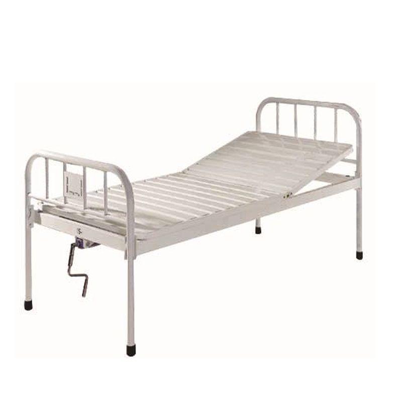 Medical Equipment Furniture 2 Crank Manual patients hospital ambulance nursing care beds for sale
