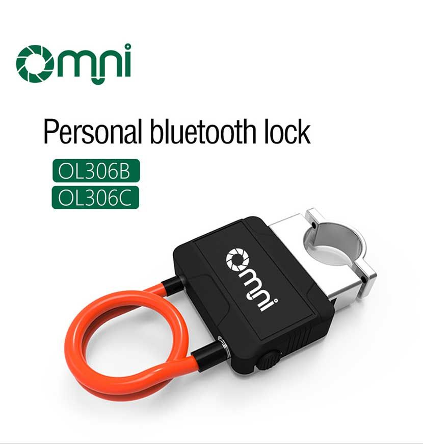 Bluetooth Smart Lock with Alarm Bicycle Smart Lock Bicycle/Motorcycle Keyless Lock APP Control