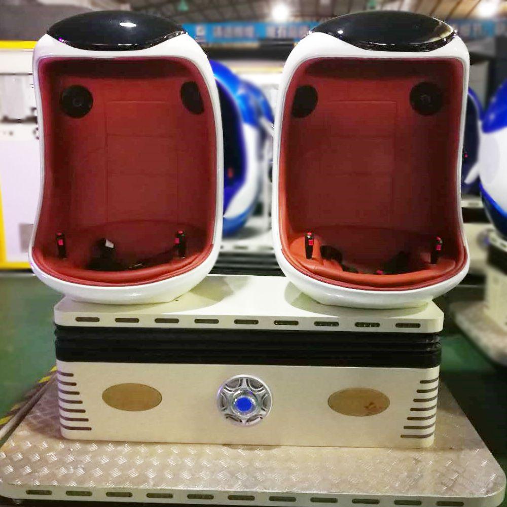 virtual reality arcade use double seats 9D cinema VR simulator