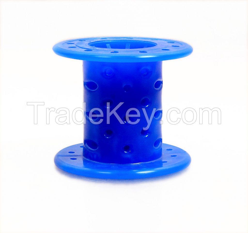 Plastic Jumbo Bobbins for Zari Covering Machine
