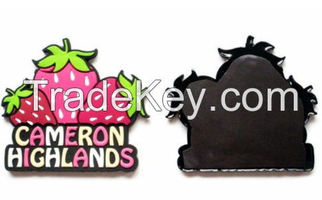 OEM Gifts Customized Silicone Rubber 3D PVC Fridge Magnet
