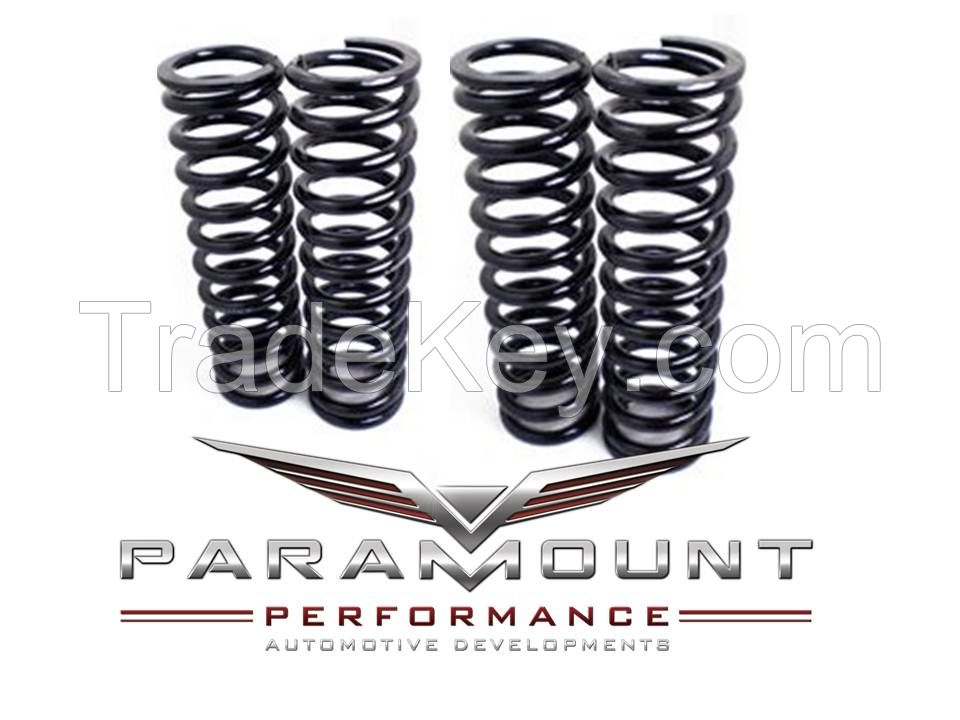 Enhance look of Aston Martin Vanquish V12 with lowering springs