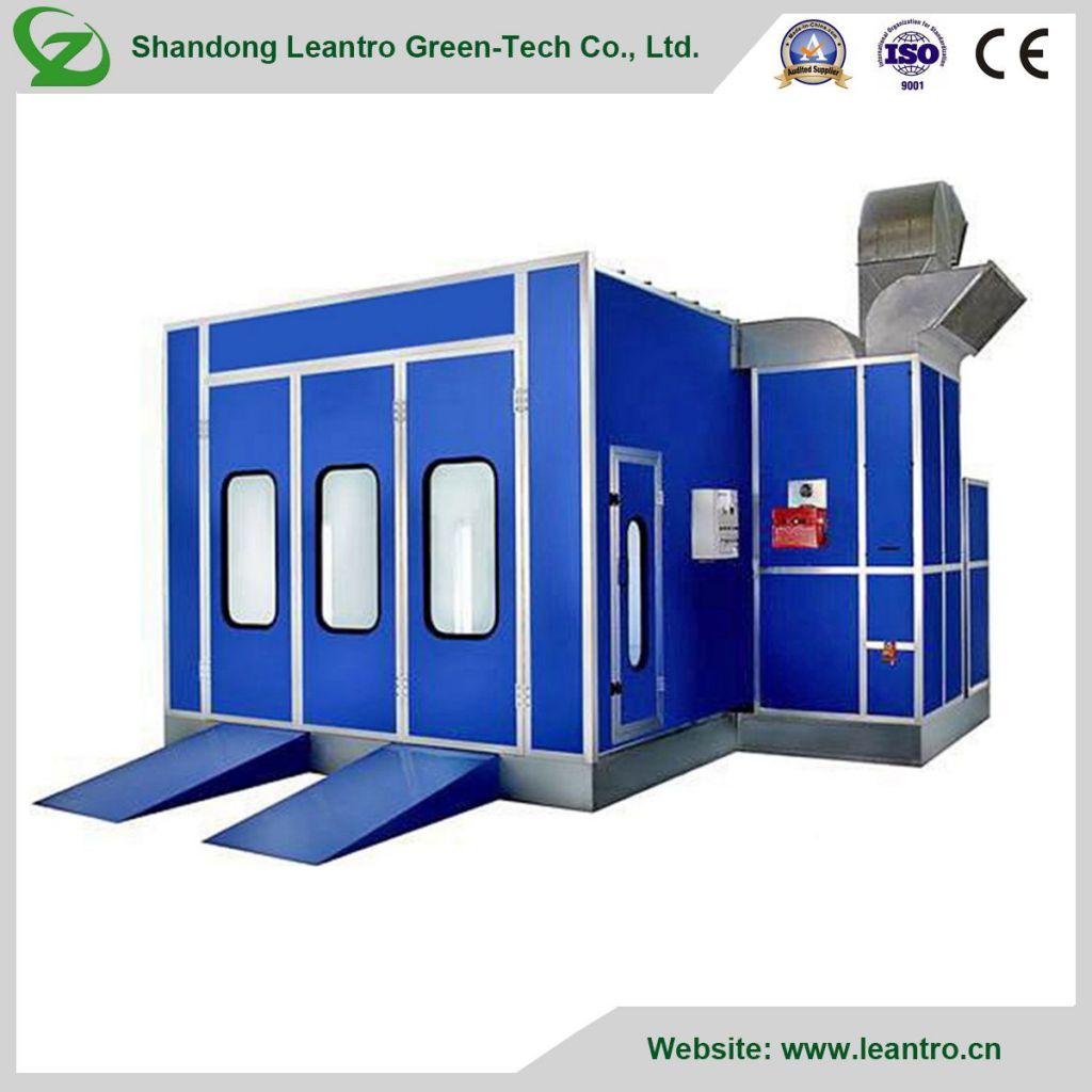 2018 China New Electric Spray Booth for Sale with Ce