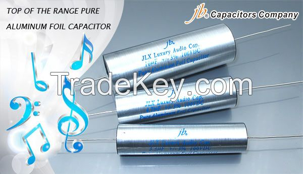 JLX - Luxury Aluminum Foil and Film Metallized Polypropylene Capacitors - Axial