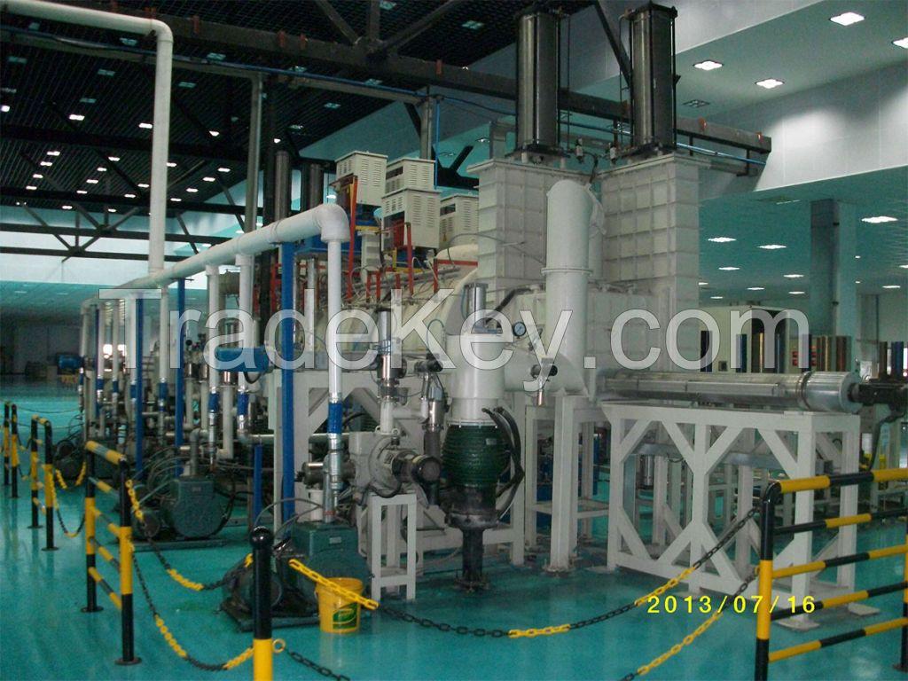 continuous hot press furnace