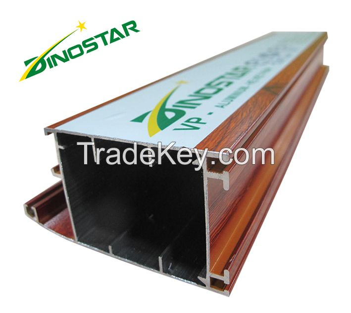 Wood grain Aluminium Extrusion Product