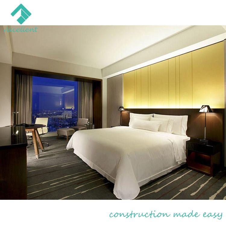 Modern 5 star king size hotel bed furniture