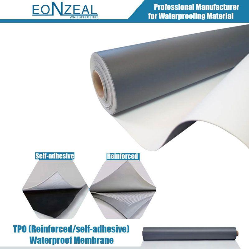 zoom TPO (reinforced/self adhesive) Waterproof membrane