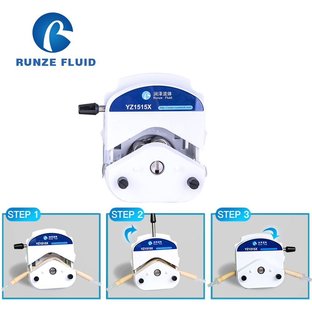 Tubing Replaceable 24v Peristaltic Pump Easy Installation Lab Industrial Application