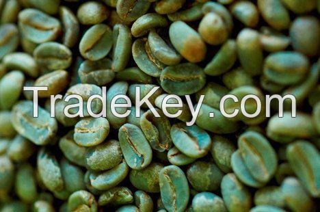 Green Arabica Coffee Beans -Grade AA, AB, PB, C, E