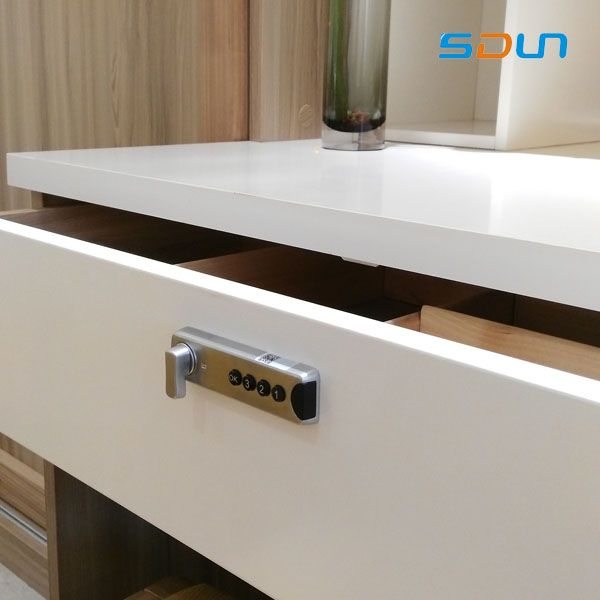 SDUN Intelligent Private and Public Mode Security Office Drawer Lock