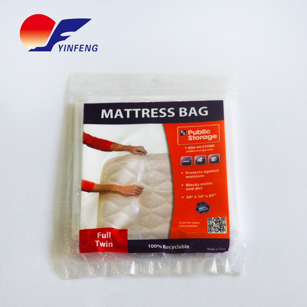 TopSoon Plastic King / Queen Mattress Bag Cover for Storage or Moving