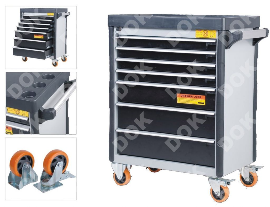 Seven Drawers Tool Trolley (DOK-7)