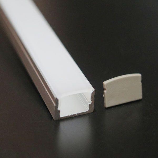 Led linear lamp shade aluminum profile for led strip