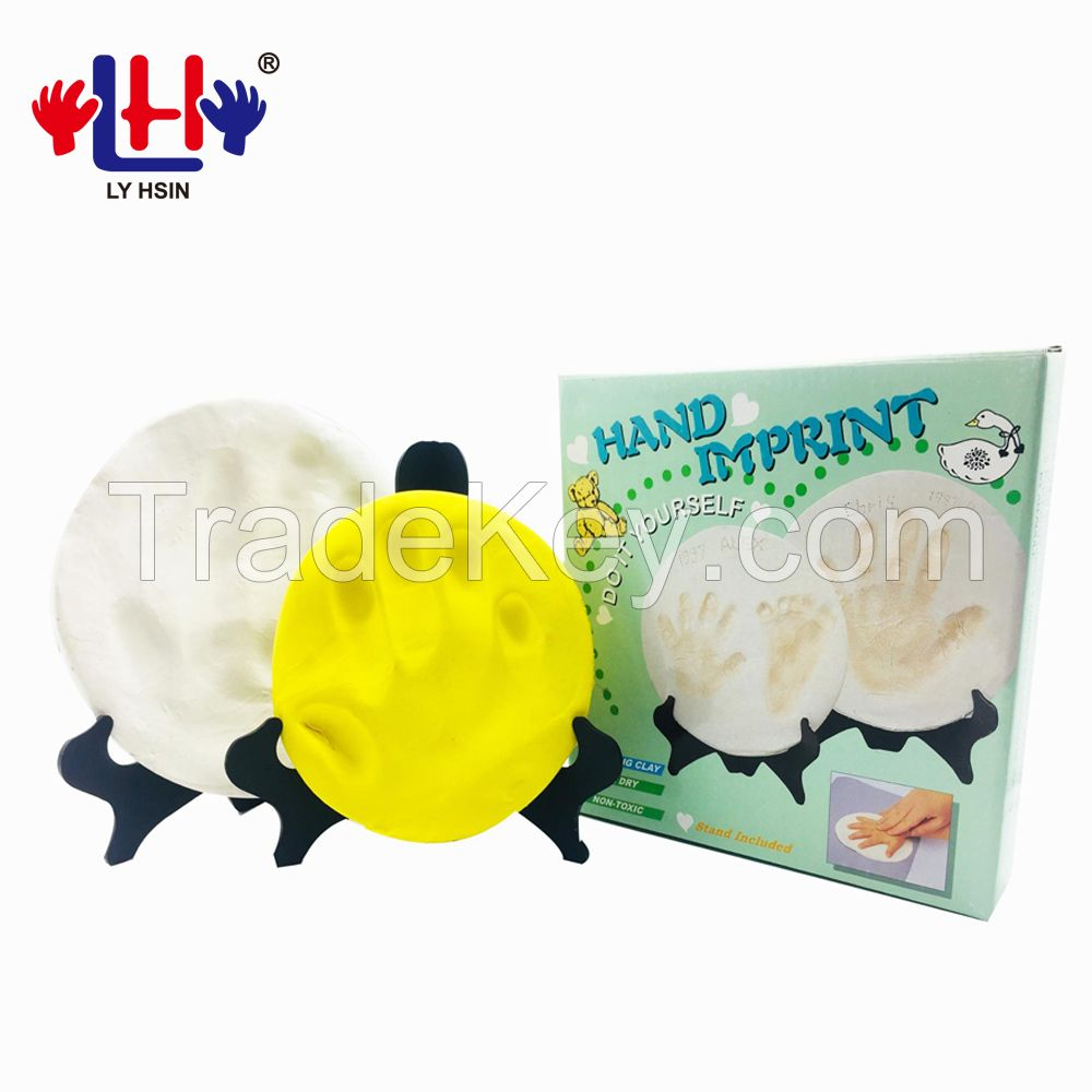 Air Drying Soft Imprint Baby Clay Kit For Family
