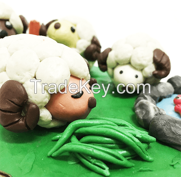 Free Sample DIY Toy Reusable Art Modelling Clay