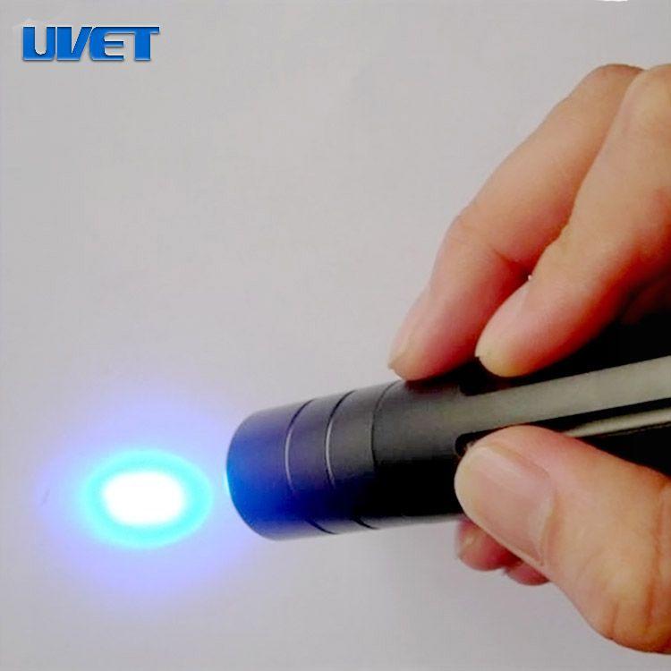 Portable 365nm UV LED spot curing lamp