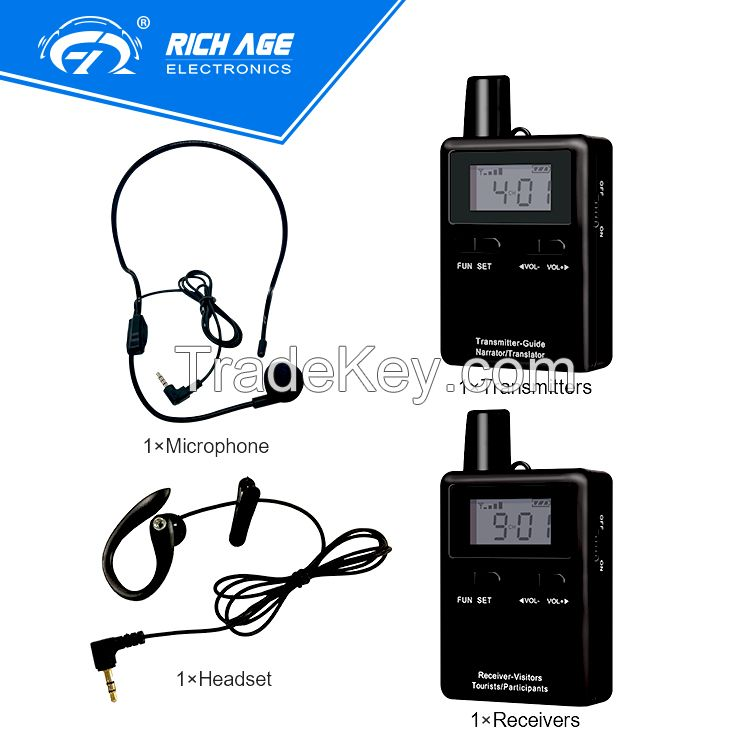 RichiTek 2018 TOP SELLING audio guide system for museum