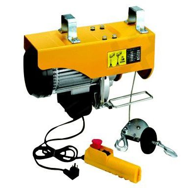 PA type 220V 100 kg - 1000 kg Mini electric hoist with traveling trolley micro lift crane