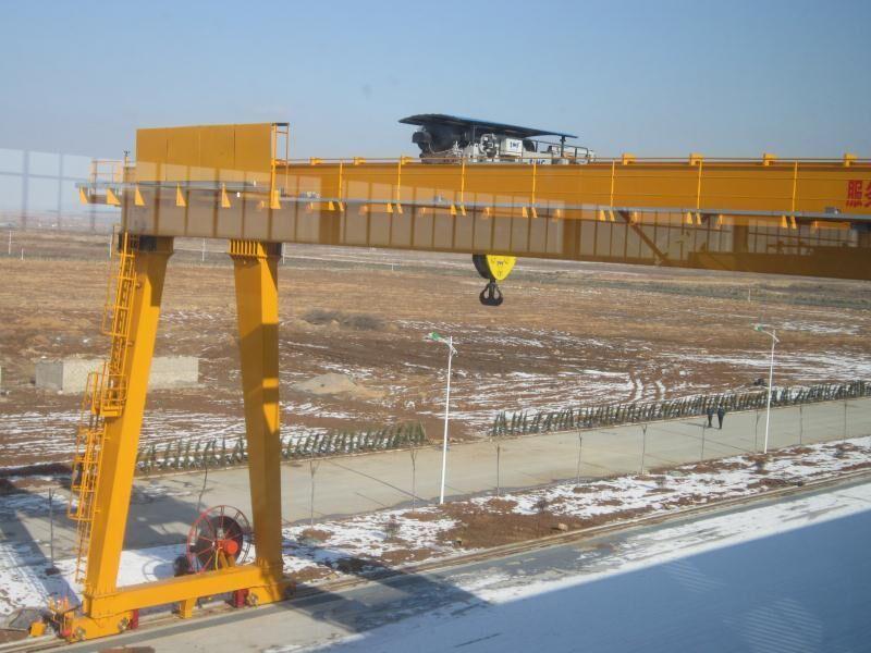 5 ton - 320 ton Double Girder Gantry Crane 50m mobile gate crane lifting machinery design drawing