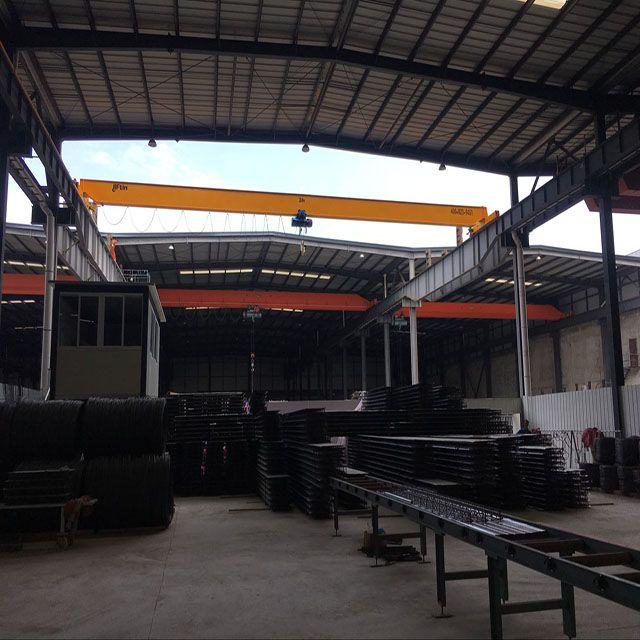 2 ton - 12.5 ton Single girder overhead travelling crane bridge crane lifting equipment