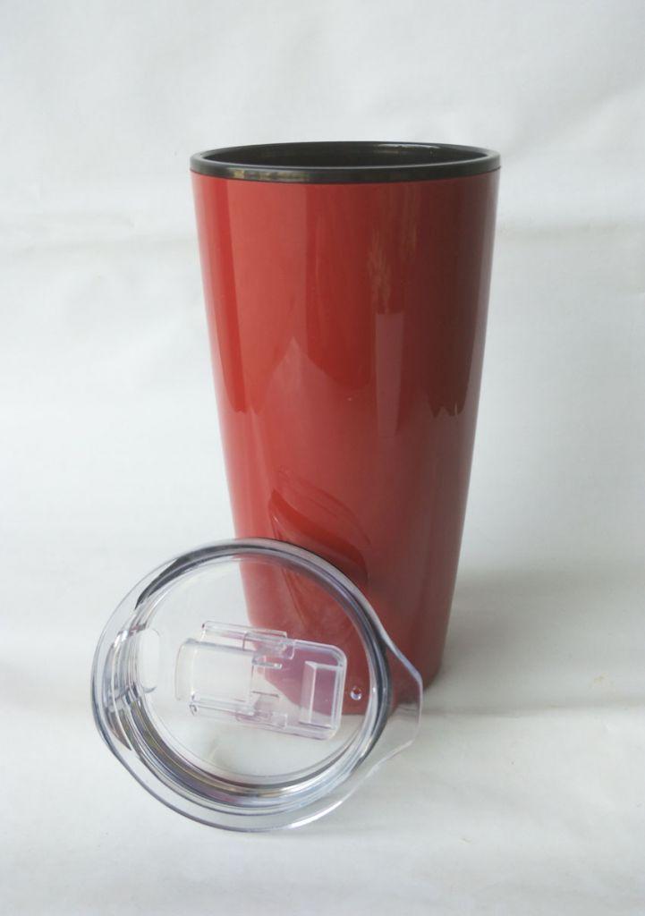 20oz double wall plastic mug with logo printing