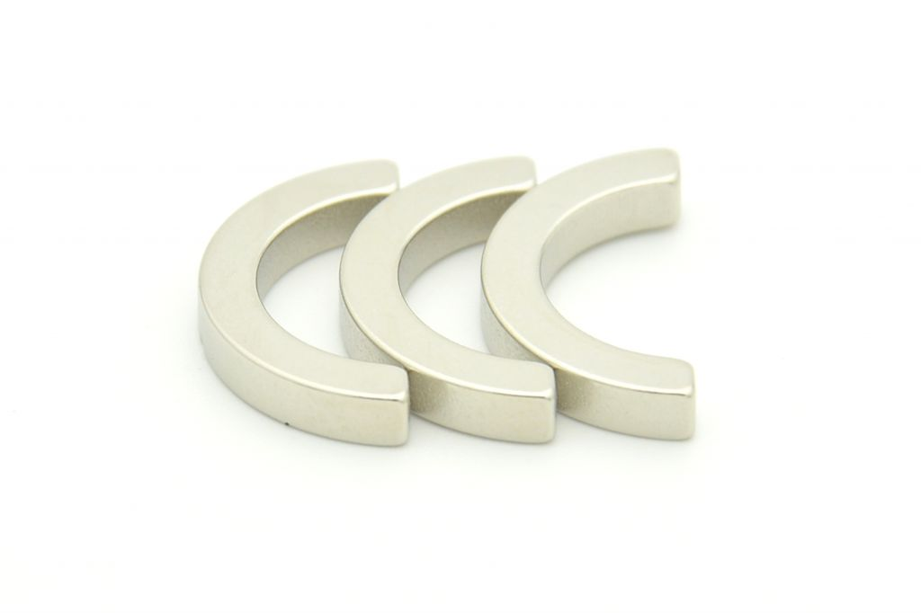 Arc sintered NdFeB magnets