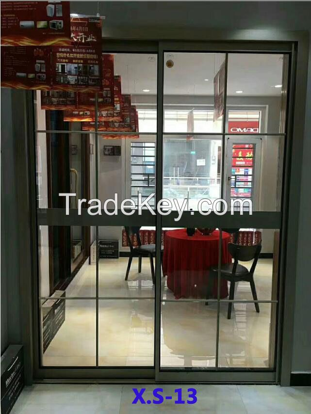 Aluminium sliding doors 2019 Narrow frame