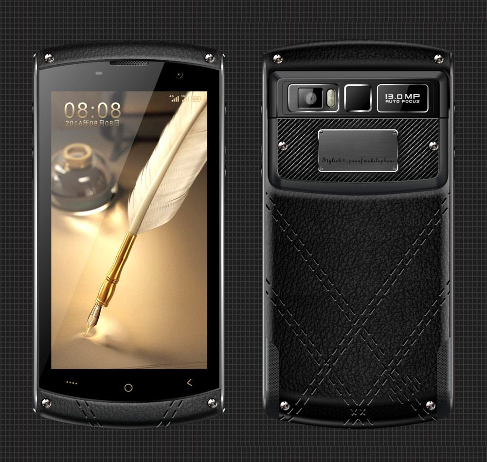 Cheapest Factory Industrial 5 inch 4G Android rugged phone with IP68 MTK6755 1920*1080 NFC PTT SOS Fingerprint  4GB+64GB