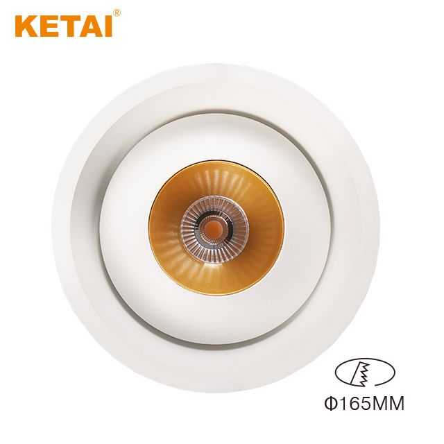 16w Aluminum Rotatable Led Recessed Downlight With Good Passive Cooling System