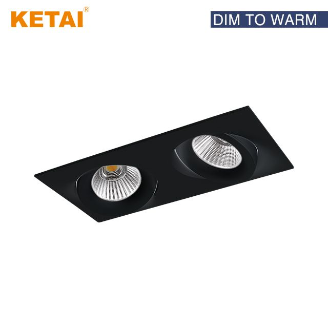 8w Dim To Warm Magnetic Rotatable Led Recessed Downlight