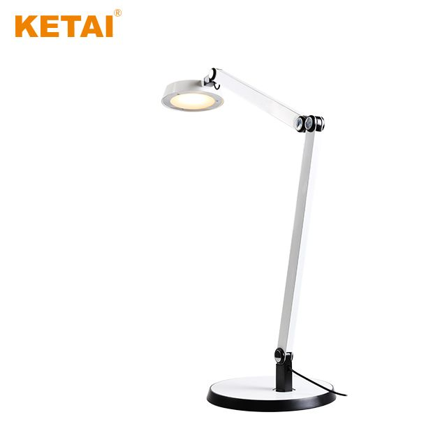 10W Green aluminium touch sensor table lamp dimmable energy-saving electronic reading lamp