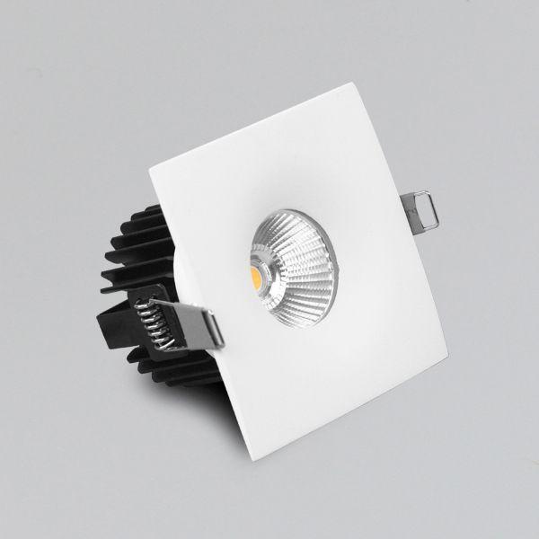 10w Ip44  Energy Saving Led Square Recessed Downlight