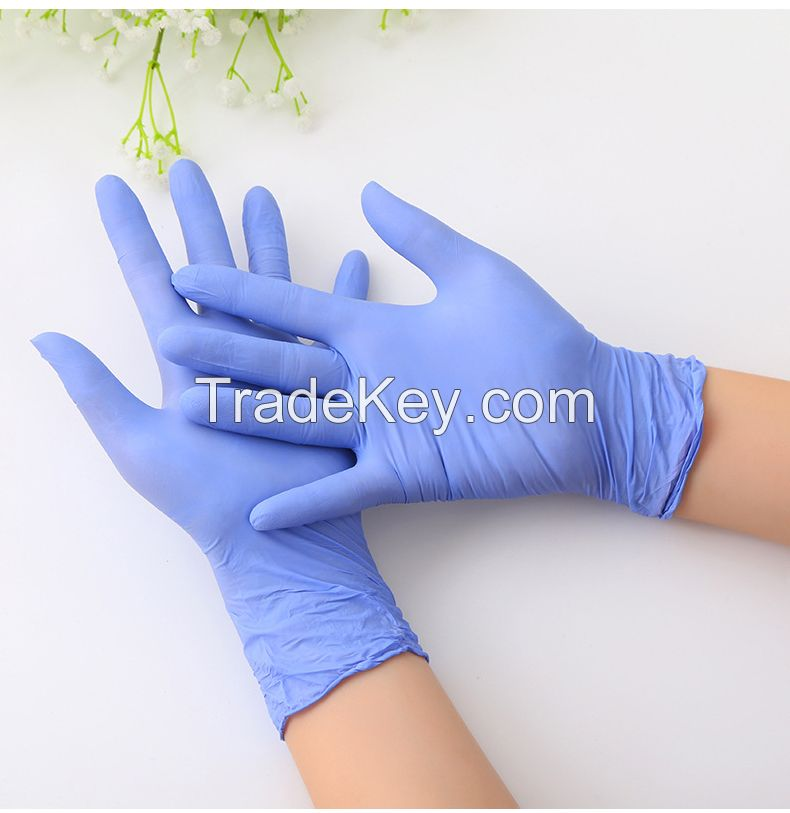 Rubber Latex Disposable  Hand Gloves