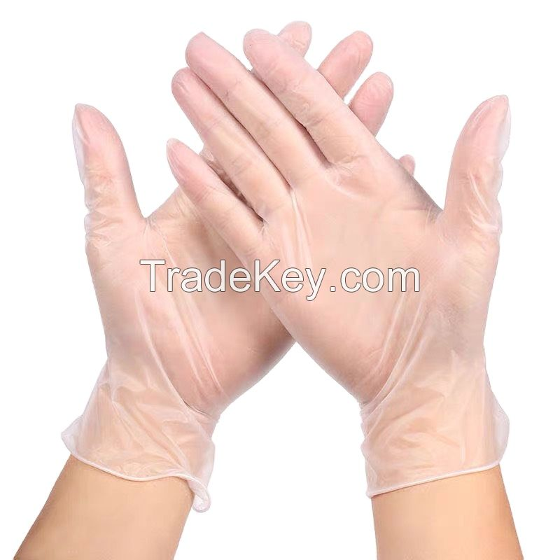 Nitrile Disposable Gloves White Safety Disposable Latex Gloves Disposable Hand Gloves