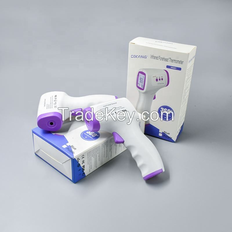 Infrared body CE FDA baby adult gun medical non contact fever forehead temperature infrared thermometer