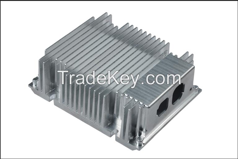 DMG 5 axis cnc custom made precision aluminium machining parts